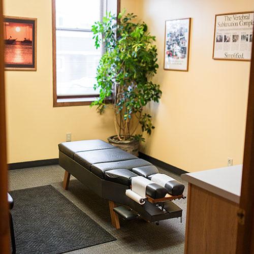 Chiropractic Sheboygan WI Adjustment Table